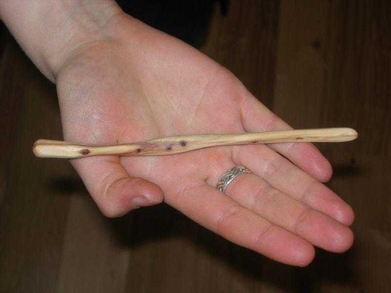 Christmas 2010 - hairstick 1