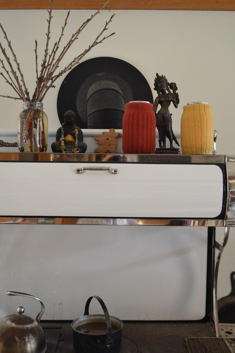 April 2011 - spring stove