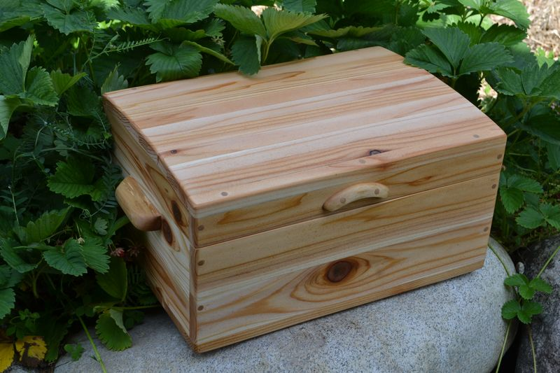 July 2011 - Summer's cedar chest 1