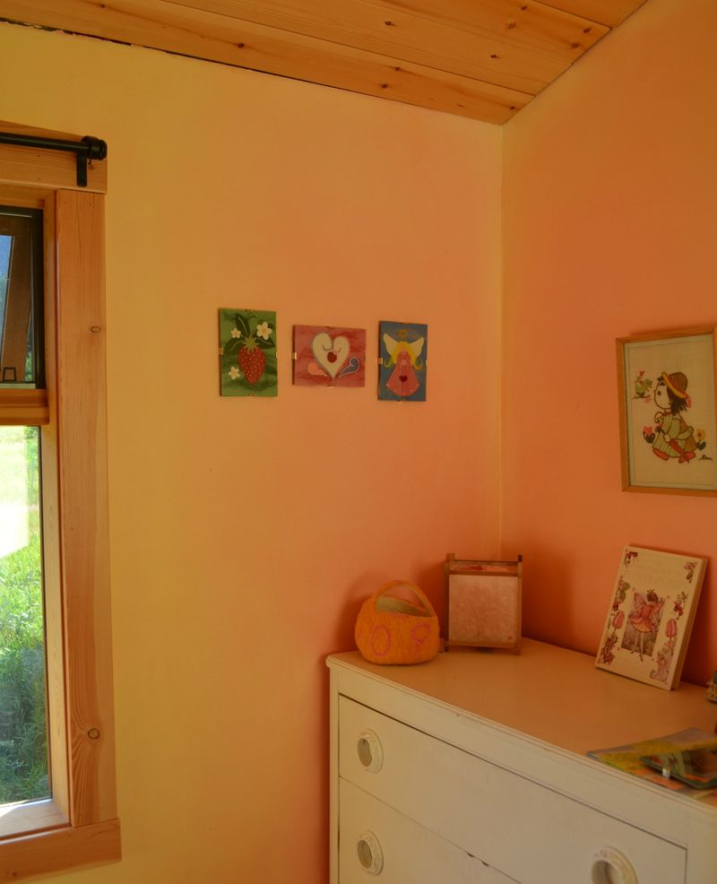 July 2011 - Summer's felt art wall 2a