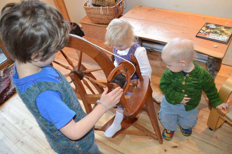 November 2011 - spinning wheel fascination 4
