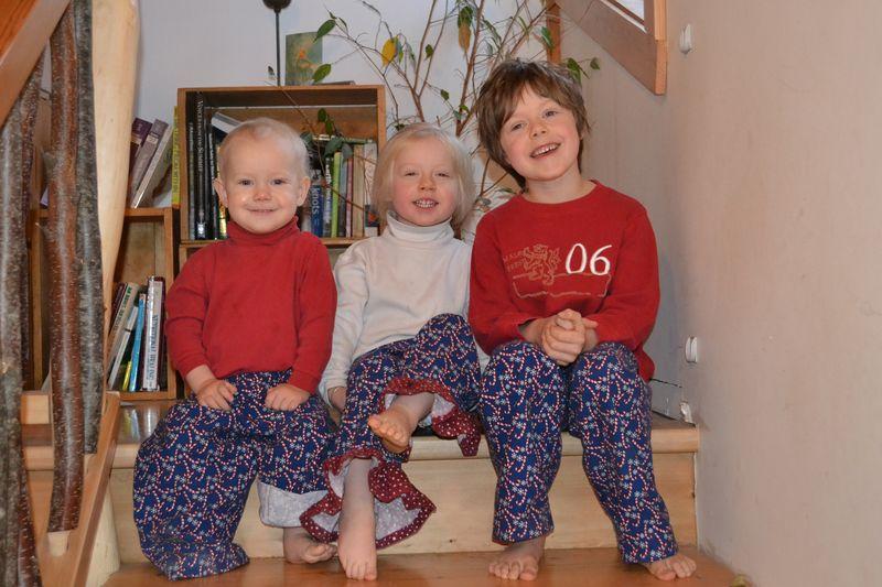 December 2011 - Christmas pjs 2