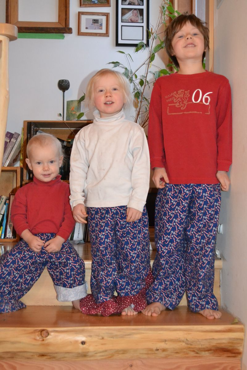 December 2011 - Christmas pjs 3