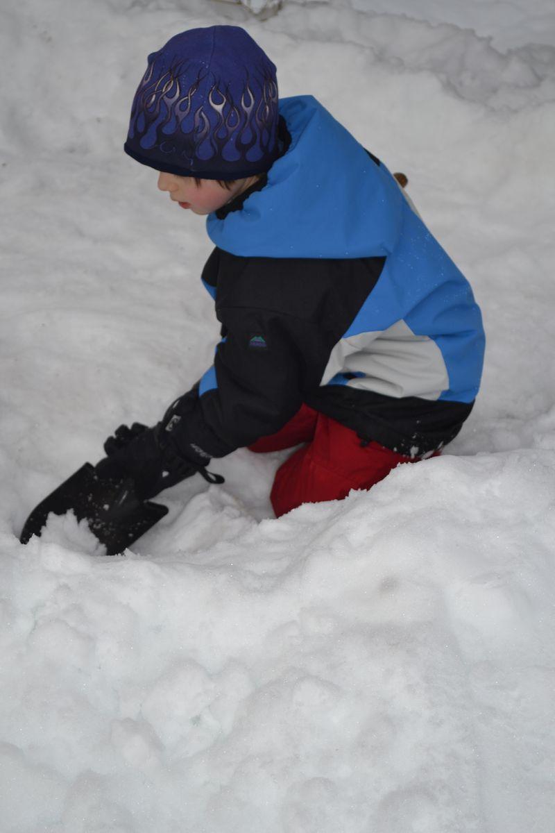 December 2011 - snowflake village 2