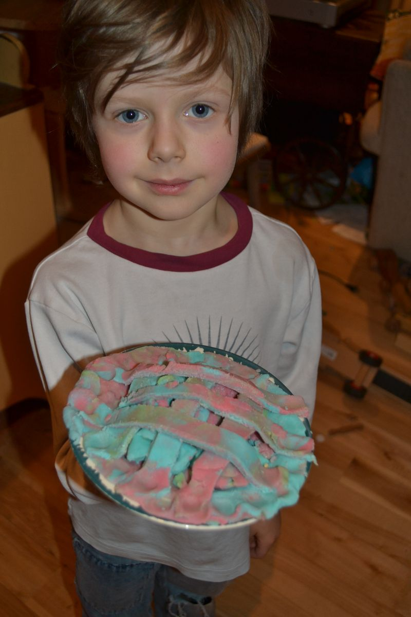 January 2012 - playdough pie