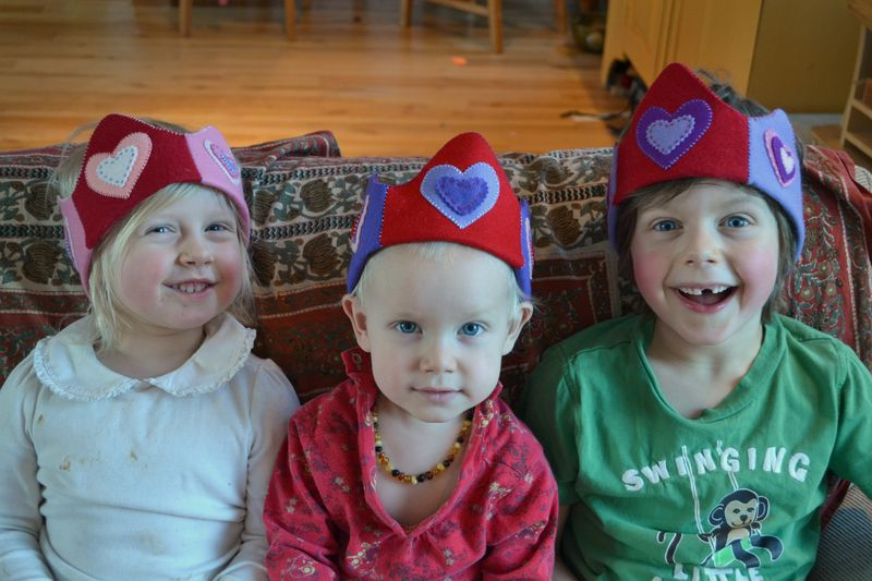 February 2012 - my three Valentines 1a