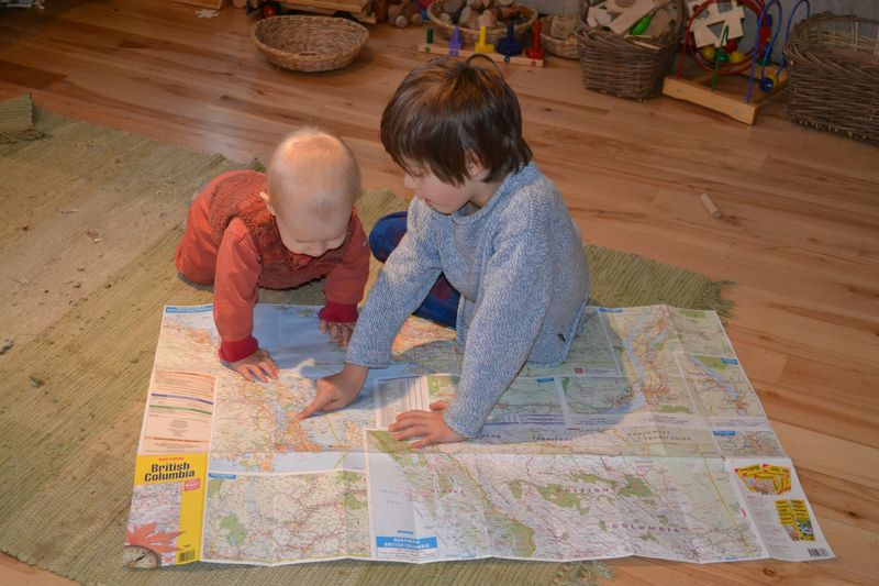 December 2011 - map reading boys