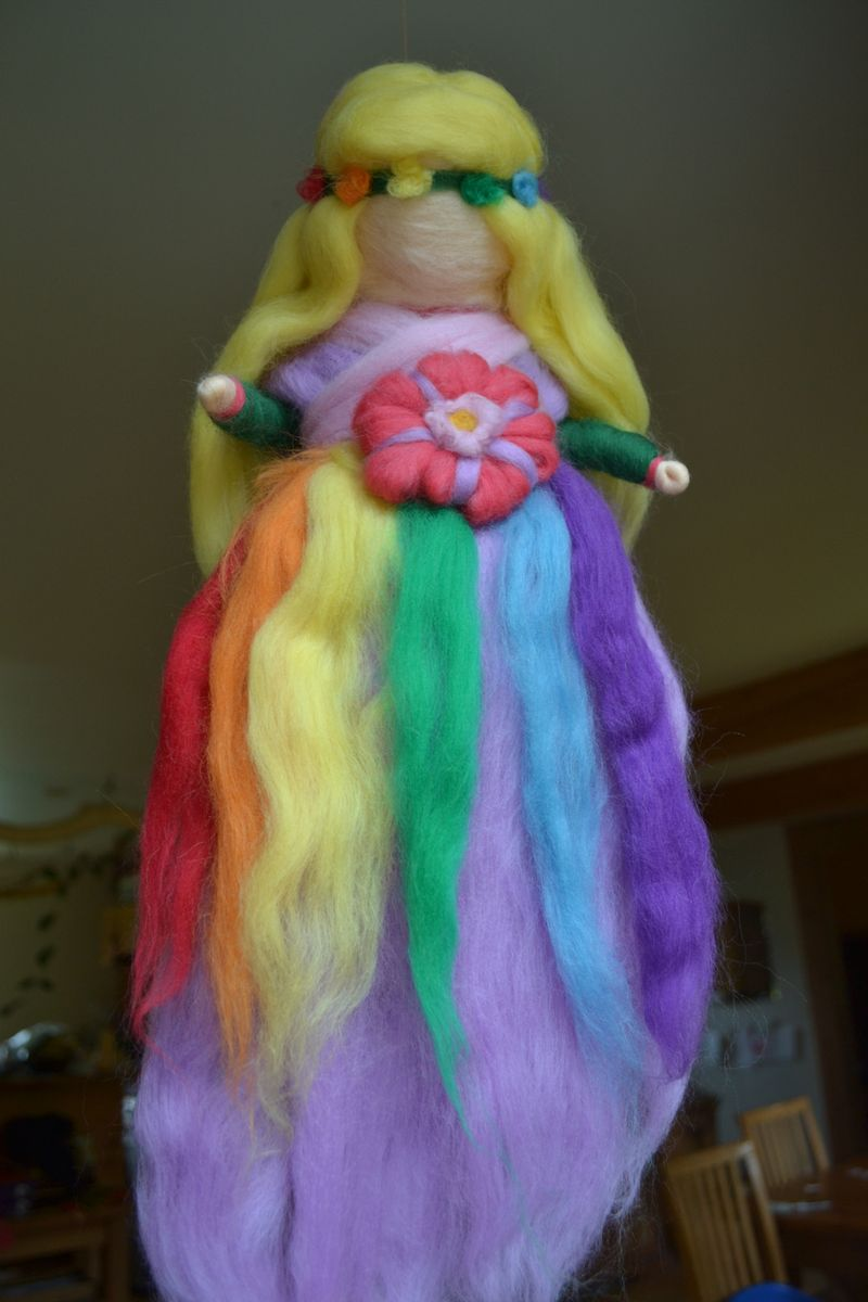 June 2012 - rainbow Summer fairy 1