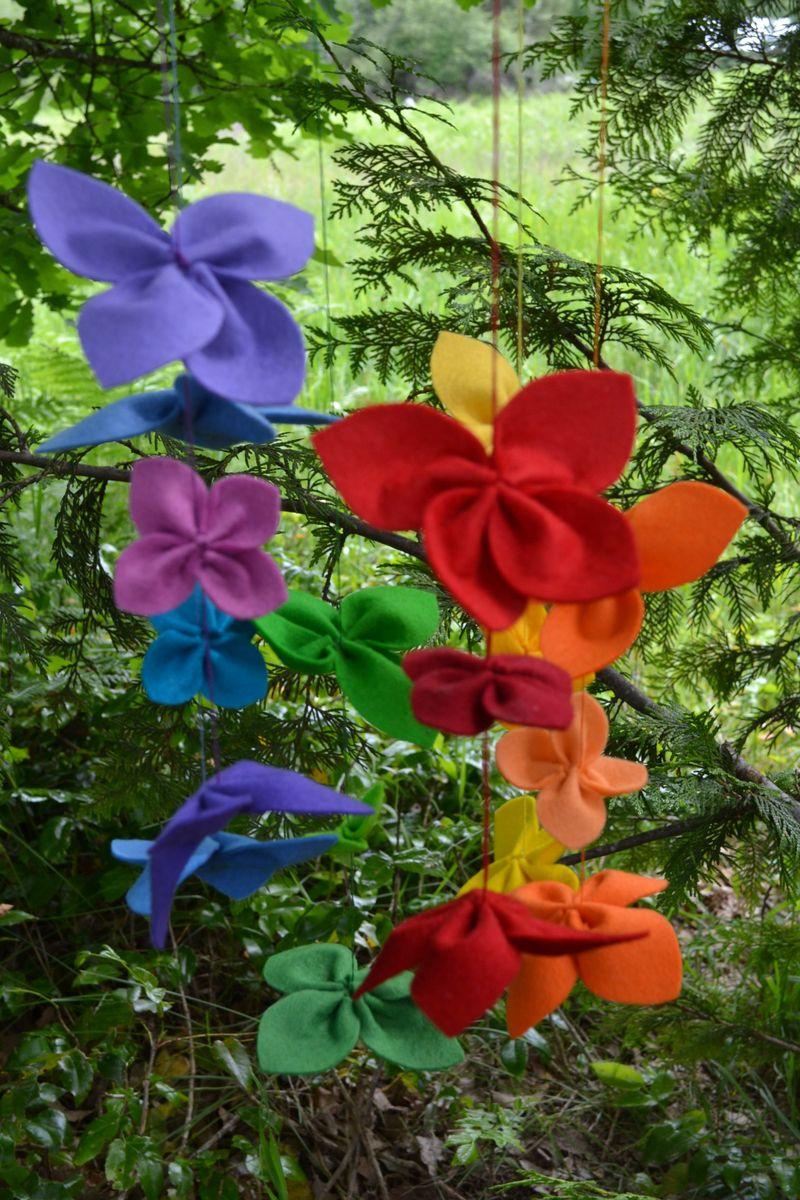 June 2012 - felt flowers