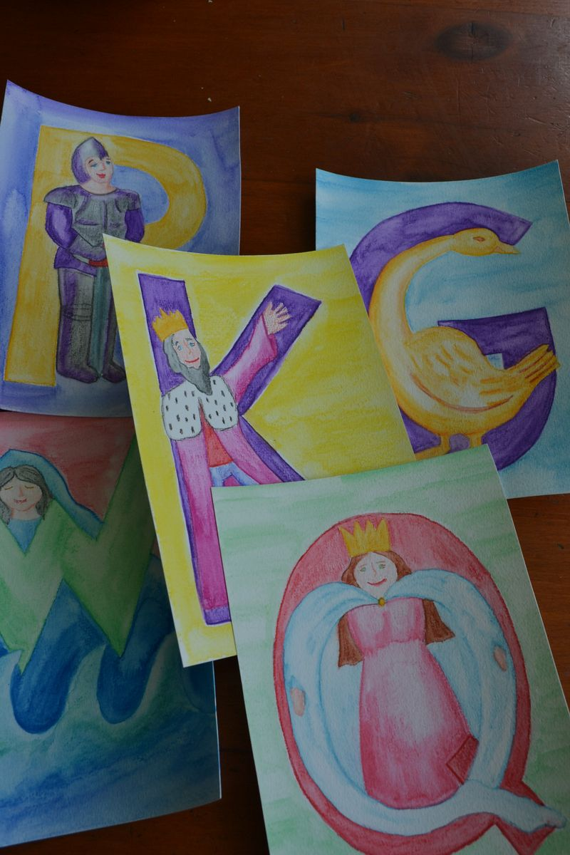 August 2012 - homeschool alphabet cards