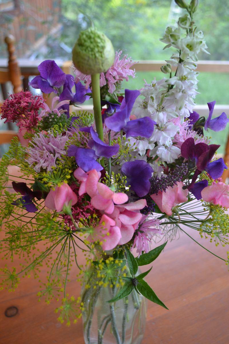 August 2012 - bouquet