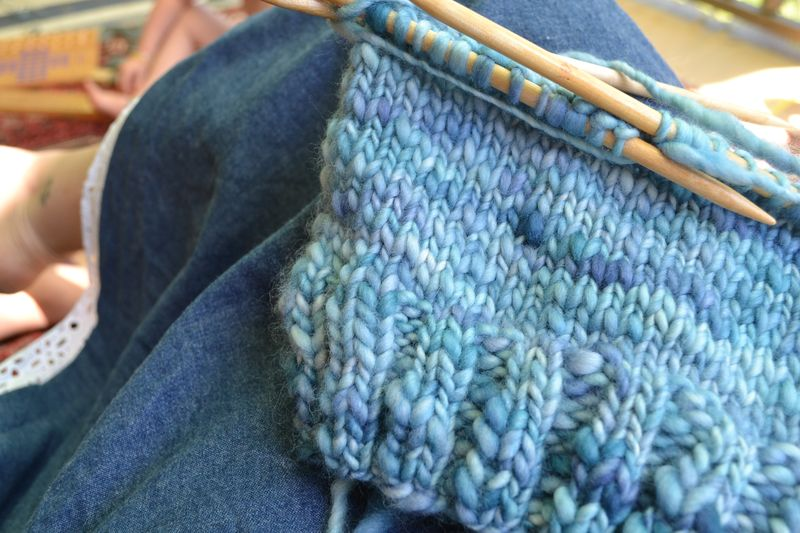August 2012 - summer knitting