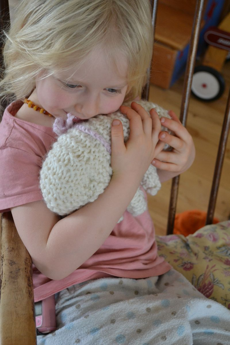February 2013 - Leif's lambie for Summer 2