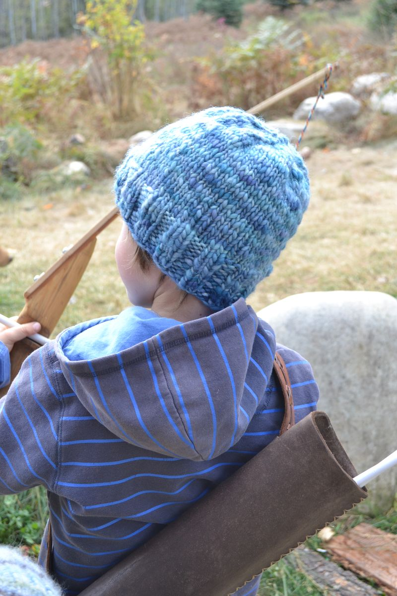 October 2012 - indigo hat 1