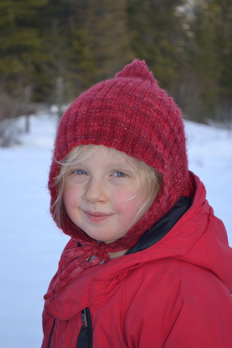 February 2012 - snowy girl