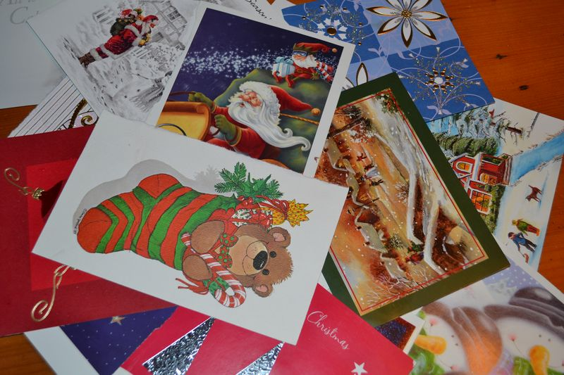 Christmas 2012 - old card banner 1