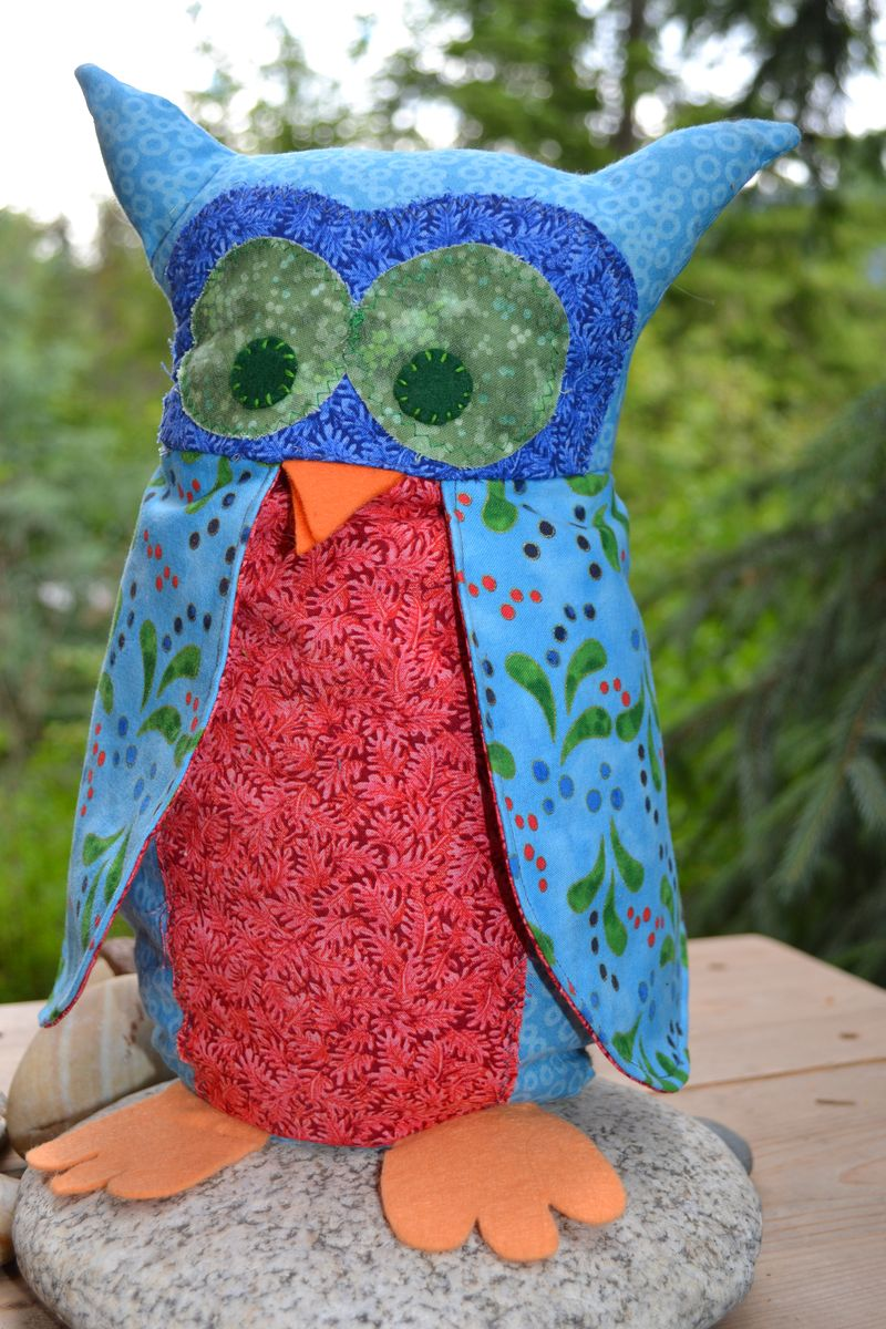 July 2013 - Mr. Owl for River