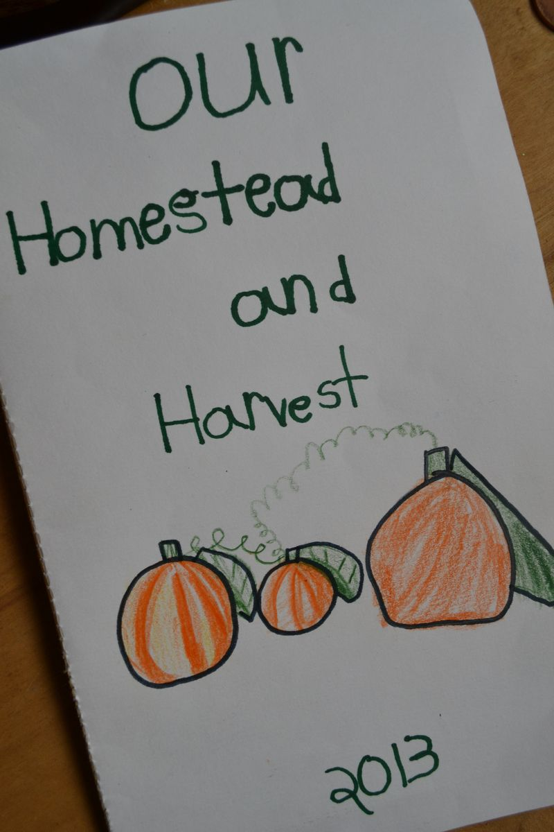 October 2013 - homestead and harvest book 1