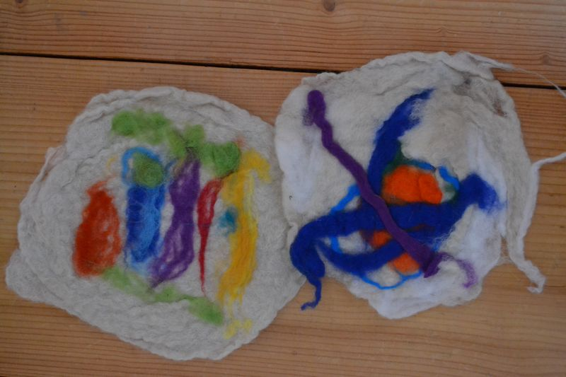January 2014 - wet felting 7