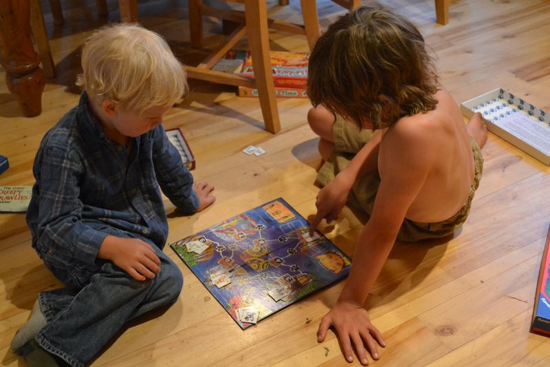 August 2014 - board games on a rainy day