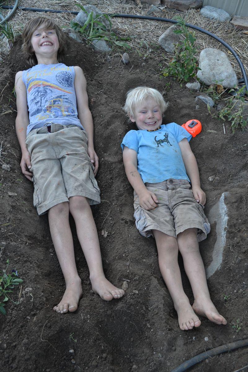September 2014 - garden beds 2