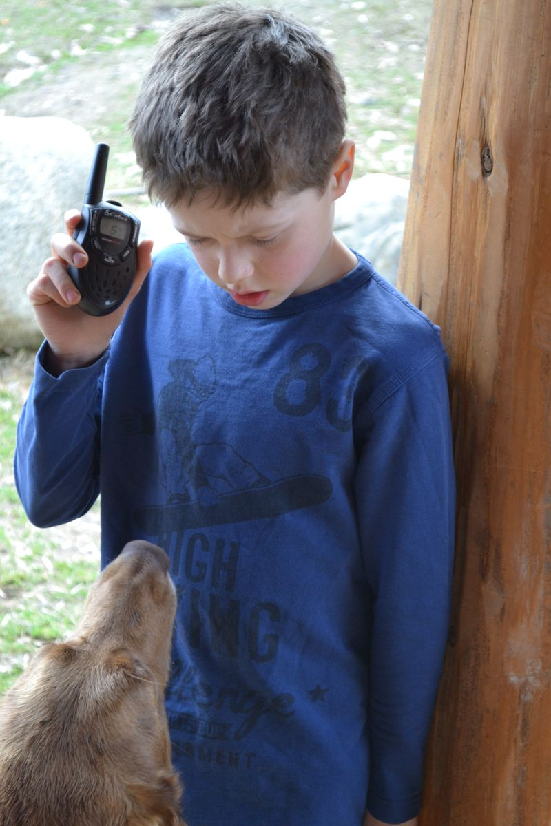 March 2015 - walkie talkie fun