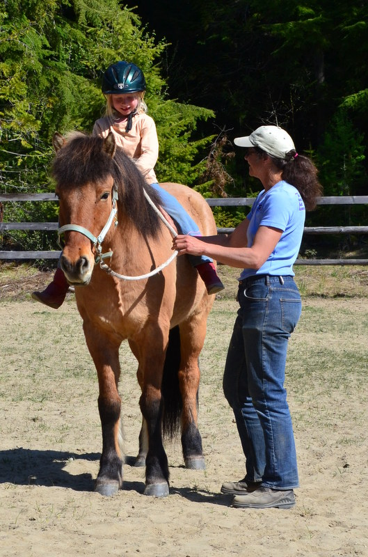 June 2015 - Summer at horse lessons