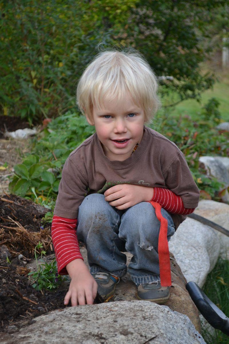 October 2014 - manure chores 3