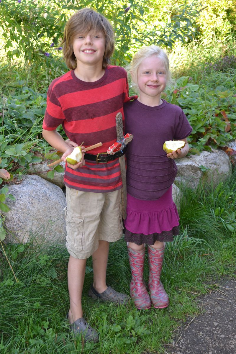 September 2014 - first day of school (K and 3) 1