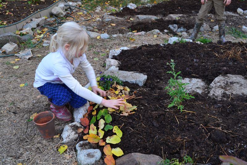 October 2014 - manure chores 5