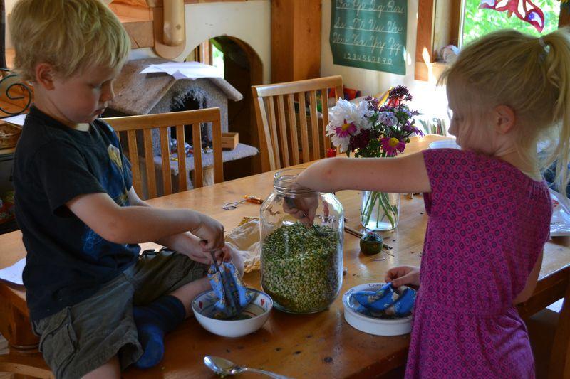 June 2015 - making beanbags 3
