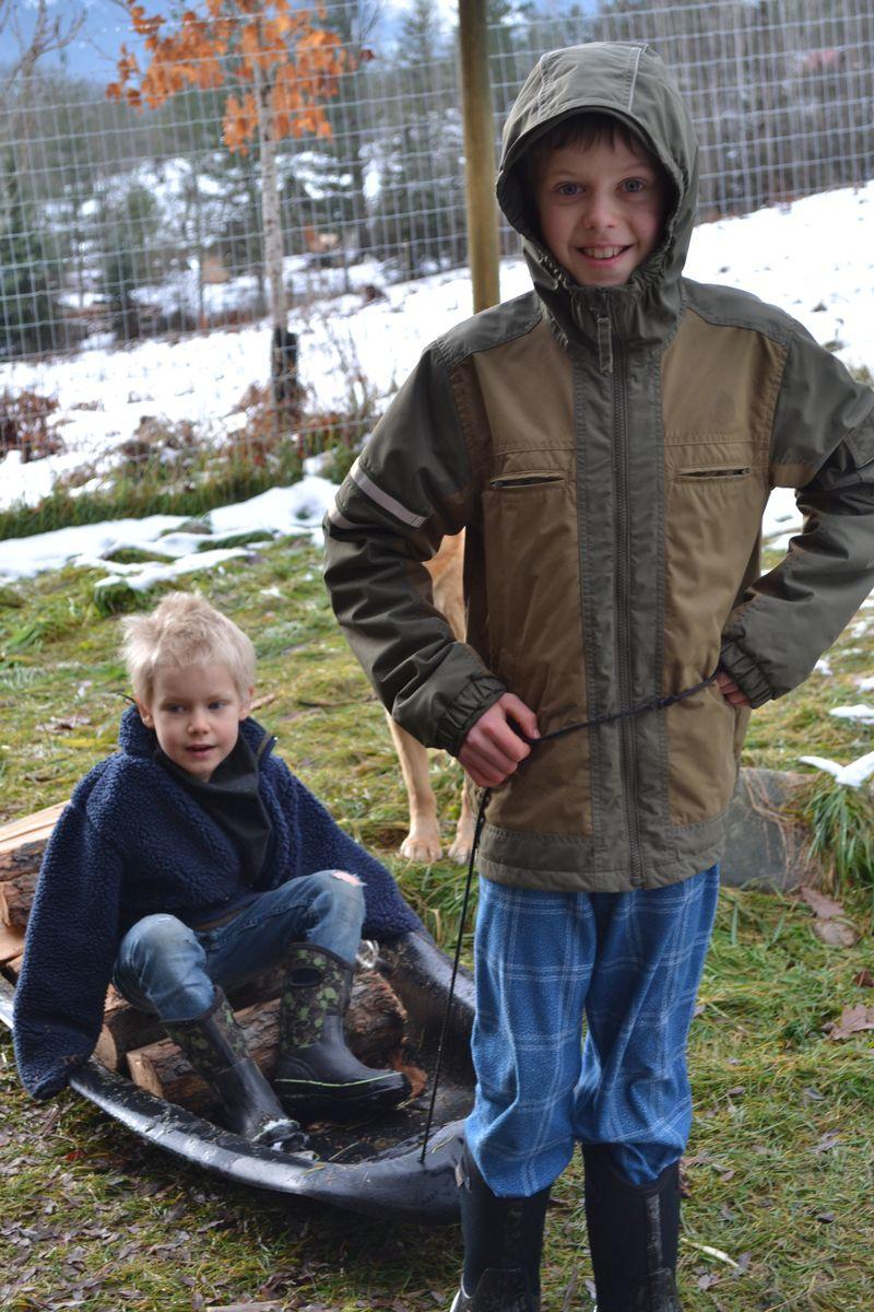 December 2015 - bringing in the wood
