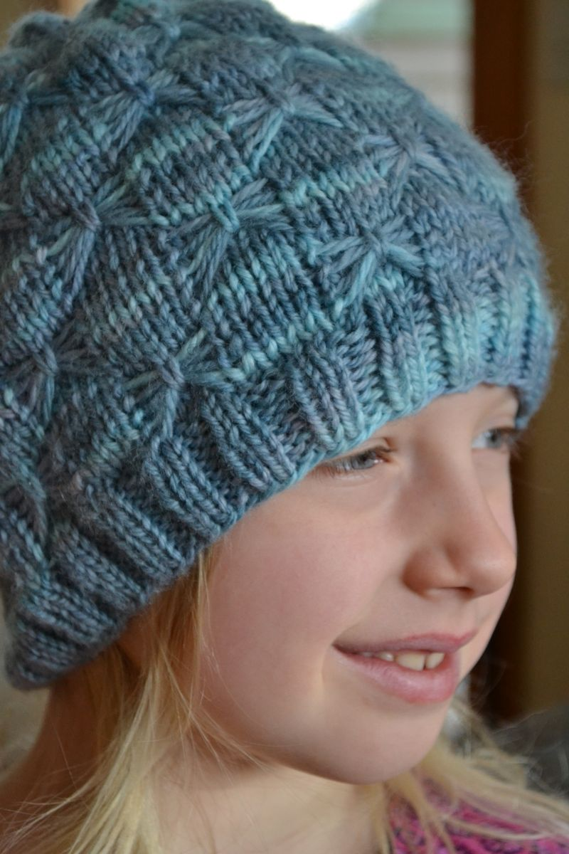 December 2015 - Juliana's hat 1