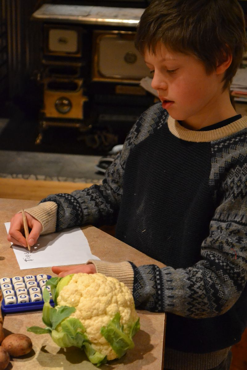 January 2016 - dinner and Boggle