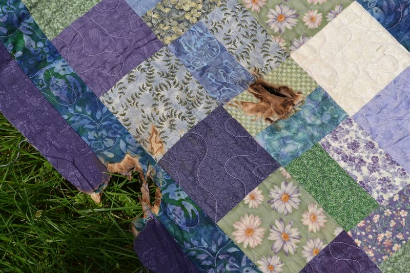 June 2014 - wedding quilt 1