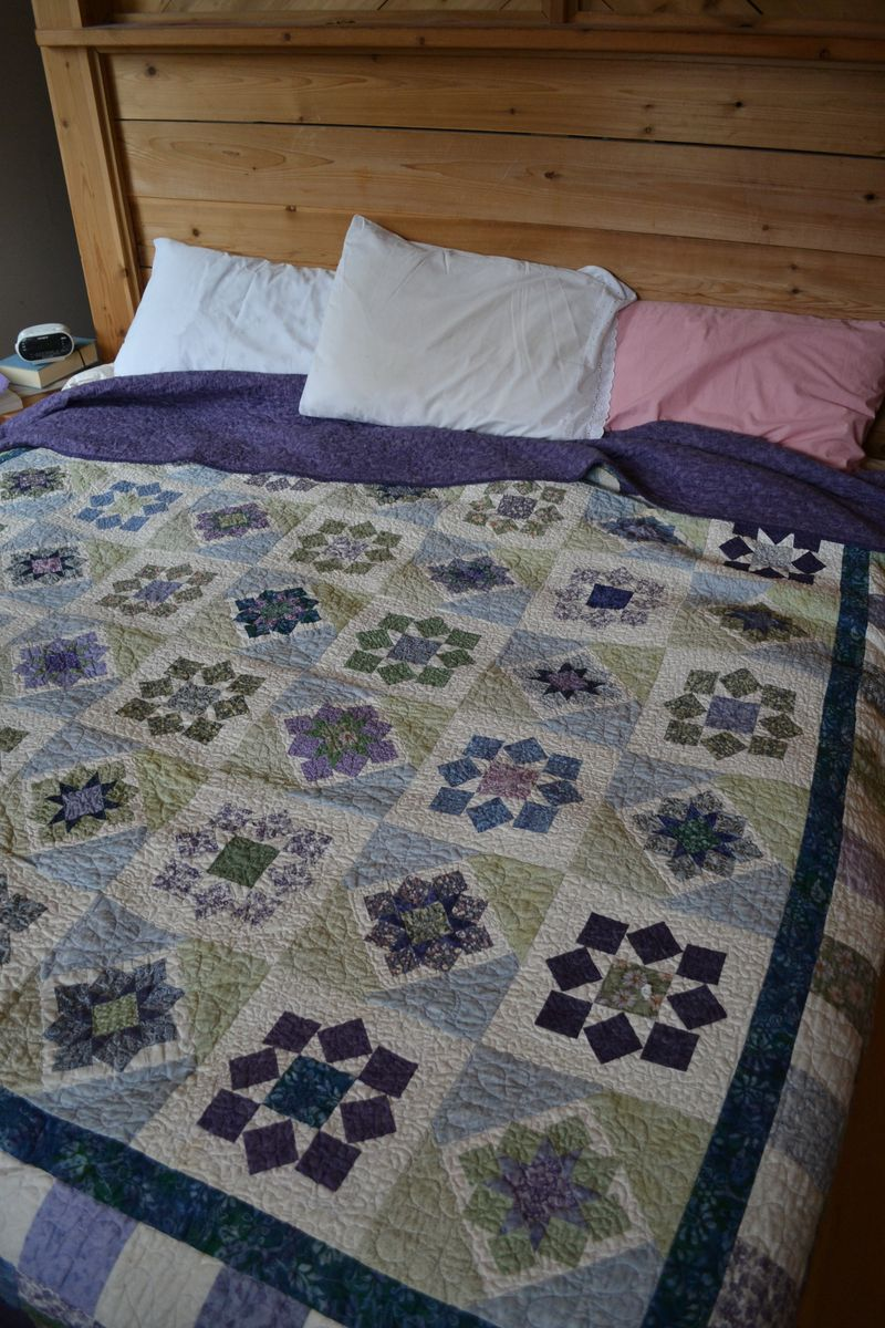 January 2015 - wedding quilt 6