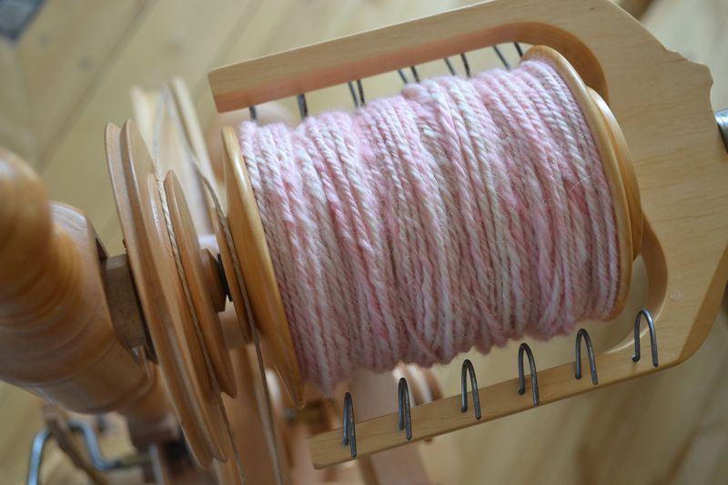 March 2015 - little Wren's wool 1