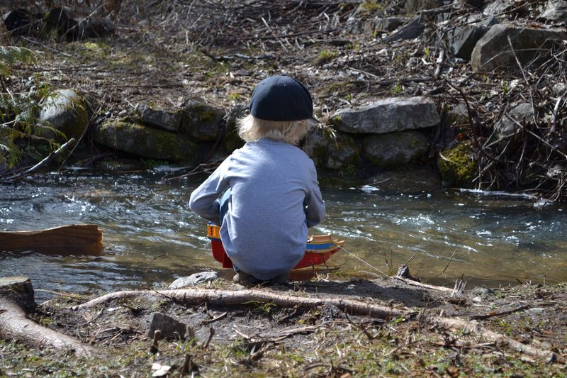 March 2015 - by the creek