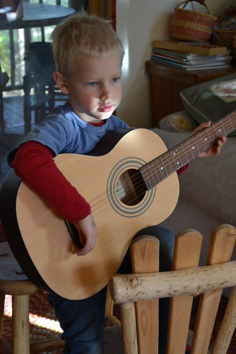 October 2015 - new guitar 1