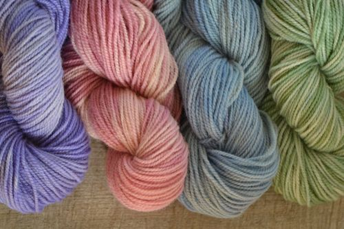 2016 - February - kettle dyed variegated wool