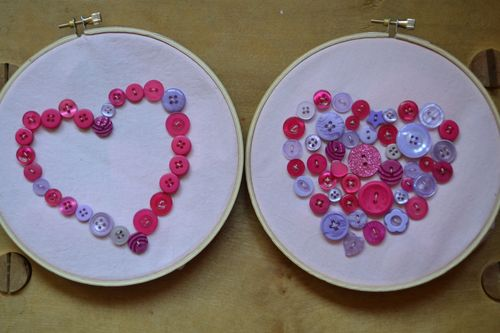 February 2016 - valentine stitching by River and Summer
